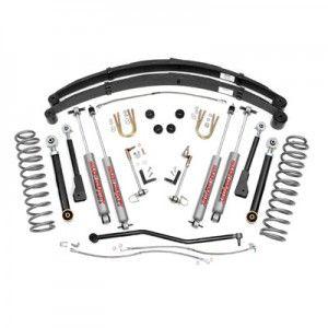 "Jeep Lift Kit | Rough Country | 4.5"" Suspension Lift Kit | RC-633XN2"