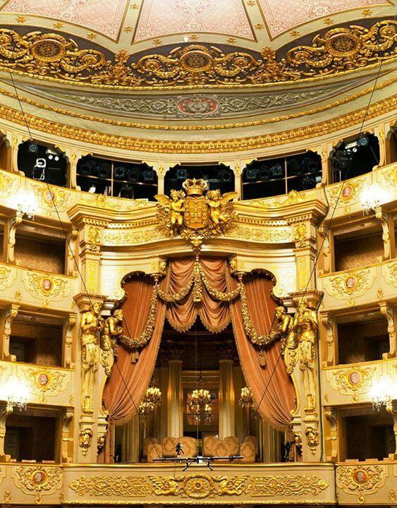 Teatro Nacional São Carlos , Lisbon , PORTUGAL