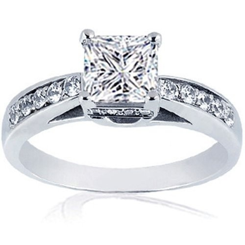 : Diamond Engagement Rings, Labs Create, Diamonds Rings, Trellis Style, Row Trellis, Dreams Engagement Rings, Princesses Cut Diamonds, Single Row, Diamonds Engagement Rings