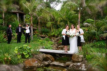 romantic wedding venue Sanctuary in the Cove. Northland wedding venue.