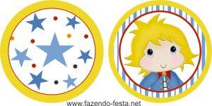 kit festa pequeno príncipe topper