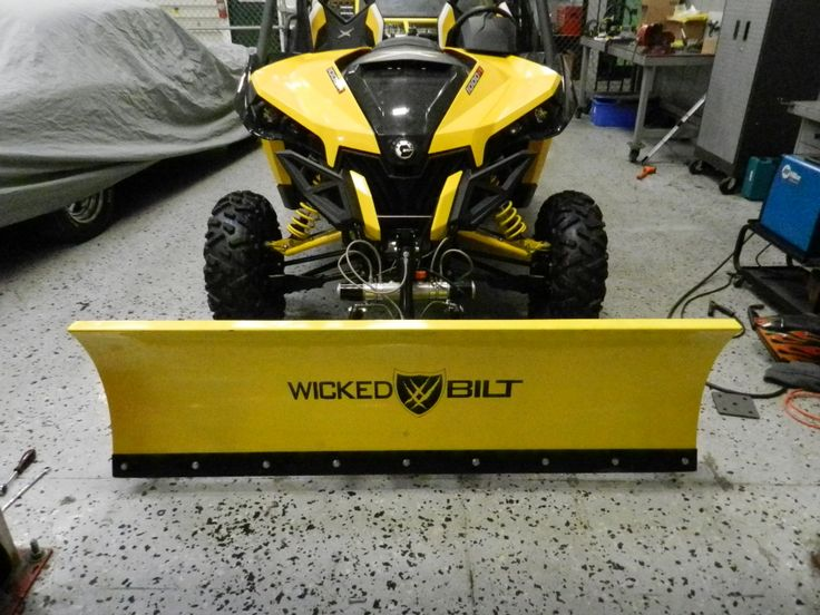 Fully Hydraulic Snow Plow Kit for the CanAm Maverick