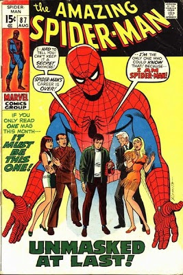 """Amazing Spider-Man #87. """"I am Spider-Man!""""  #SpiderMan  Auction your comics on http://www.comicbazaar.co.uk"""