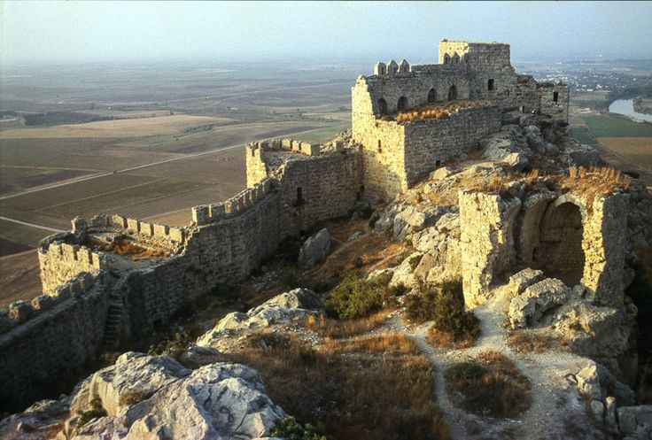 "Yılankale (""Castle of the Snakes""), also known as Levonkla is a medieval castle located east of Adana in modern Turkey, built on a rocky hill overlooking the east bank of the Ceyhan river by Cilician Armenian king Leo (Levon) I. Photographed by Jacqueline Poggi"