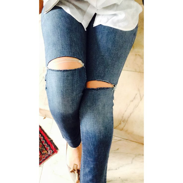 ° cropped jeans °