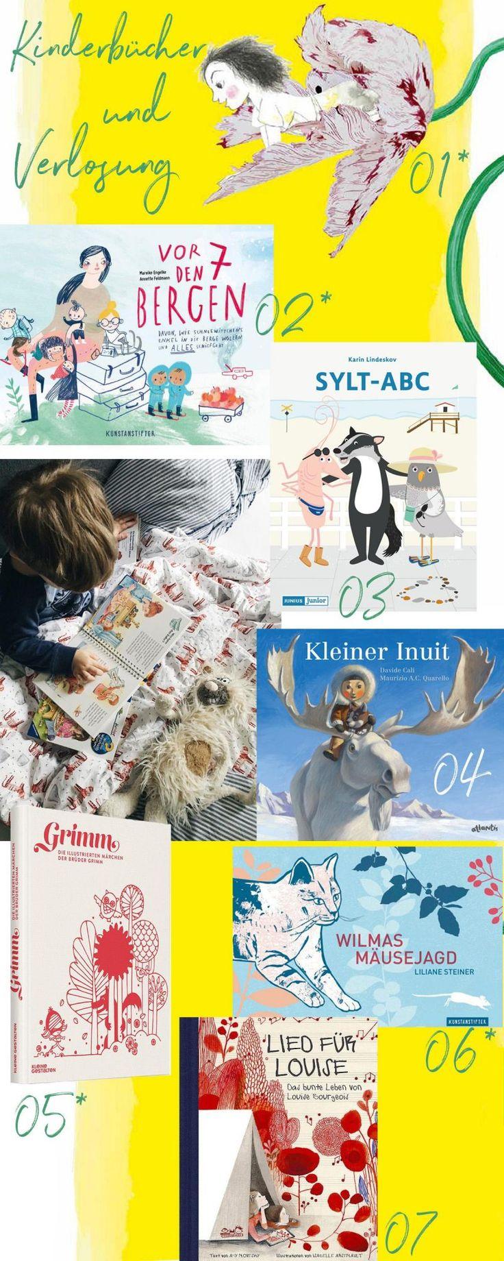 Verlosung 4 von 10 Kinderbuch Lieblingen: Die schönsten Pinterest Kinderbücher für Kleinkinder | Pinspiration