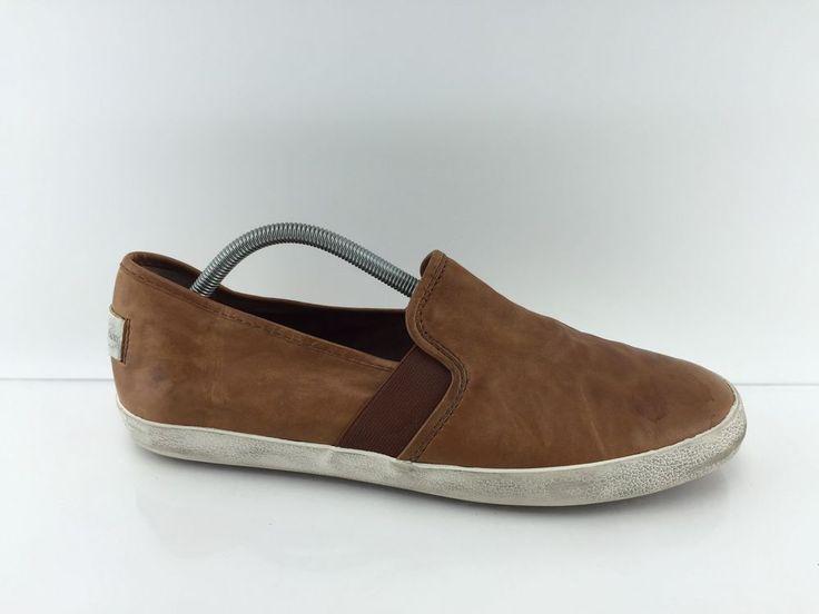 Frye Men's Brown Leather Shoes 11 M #Frye #LoafersSlipOns
