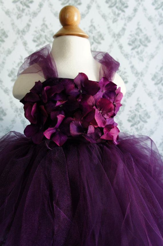 Deep Purple tutu dress