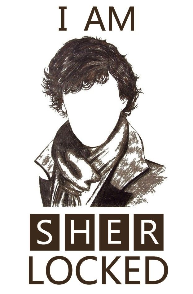 I have made some cool posters of Sherlock quotes by editing my BBC Sherlock…