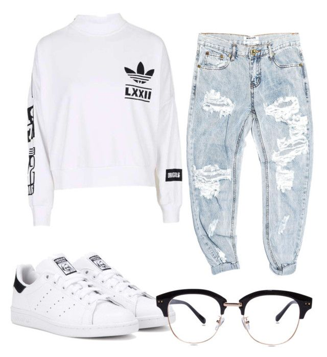 """""""Just another adidas outfit..."""" by graceha on Polyvore featuring OneTeaspoon, adidas and adidas Originals"""