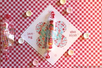 Snippets printable valentine