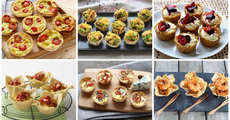 10 mini tartellette dolci o salate da fare senza pasta