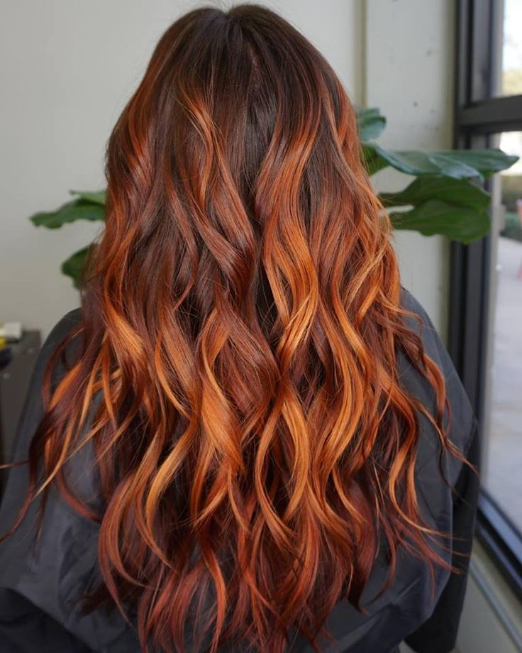 INSPIRED BY NATURE Balayage with flame inspired Fade-resistant #fullspectrum #demiplus Aveda Hair color. . . . Stylist : @akaeallday . . . #aveda #avedacolor #avedacut #sourcesalon #beautifulhair