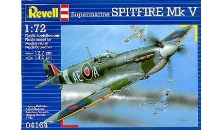 Revell - 4164 - Maquette d'avion / Aircraft Model kit - Supermarine Spitfire Mk.V - 1/72
