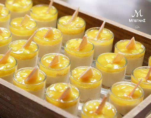 Πανακότα dulcey με μπισκότο αμυγδάλου και κομποτέ από μάνγκο. Μια ακόμα εκλεπτυσμένη πρόταση από τη Μπεγνής, που θα ολοκληρώσει γλυκά το μενού σας!