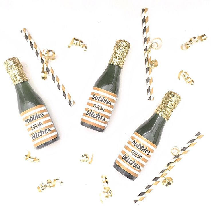 A personal favorite from my Etsy shop https://www.etsy.com/listing/269894148/bubbles-4pack-mini-champagne-labels-with