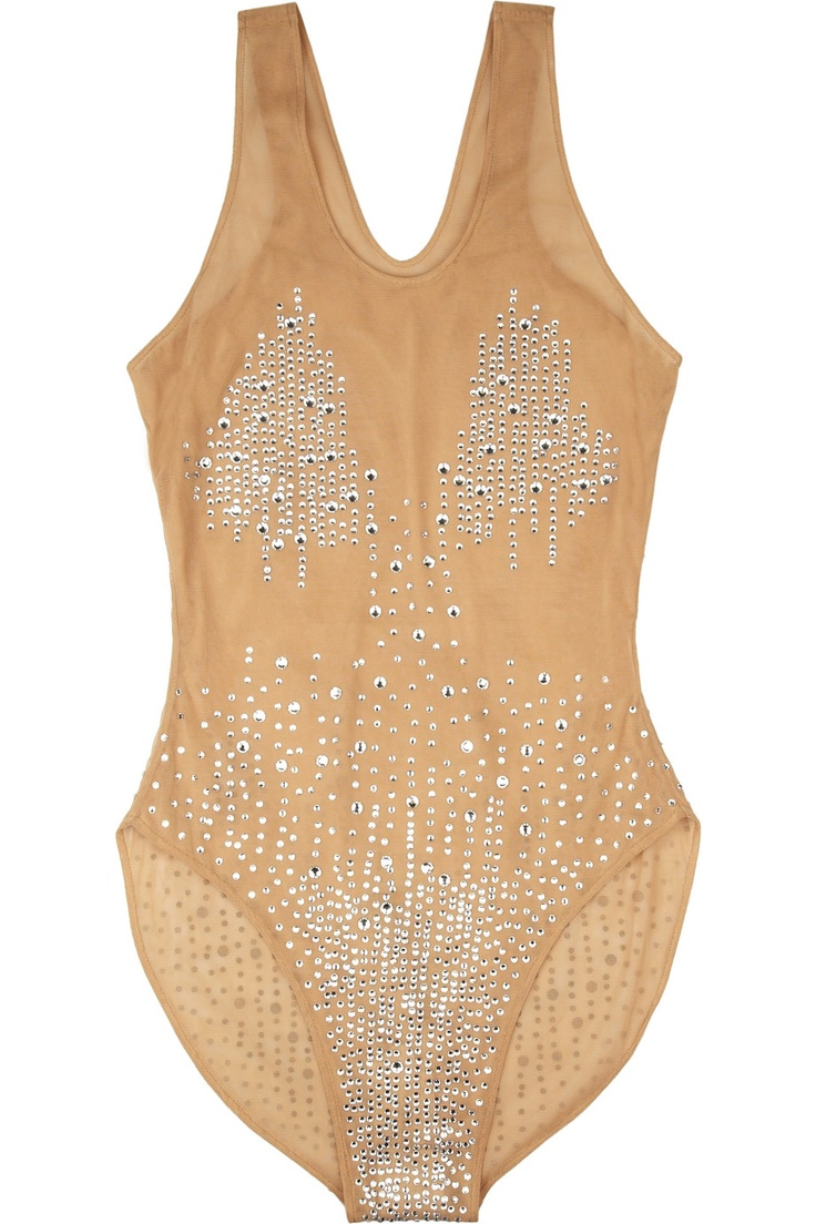 this Norma Kamali bodysuit def reminds me of good ole Toxic Britney Spears and I want it for my high waisted pants