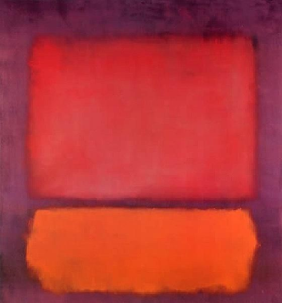 Mark Rothko Untitled 1962 painting