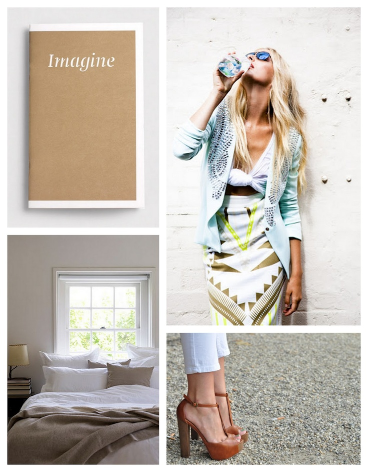 pastels and cream