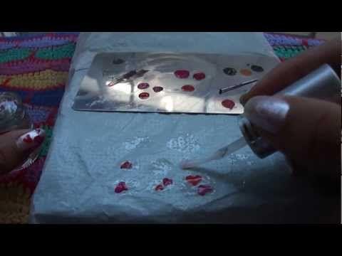 ▶ Como hacer sticker para tus uñas - YouTube