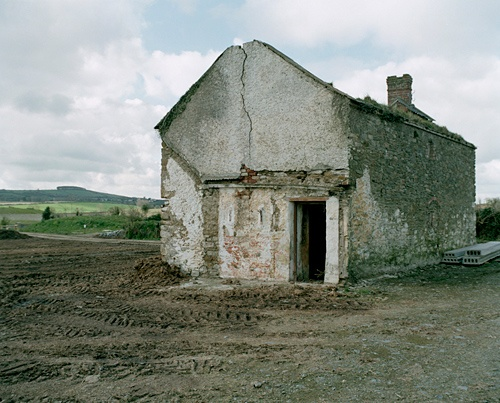 "Crumbling building | Photograph by Jackie Nickerson, from the series ""Ten Miles Round"" 