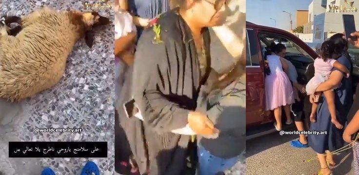 شاهد كيف ظهرت الفنانة هيا الشعيبي بعد الإفراج عنها من السجن بسبب نشر الفيديو الإباحي على
