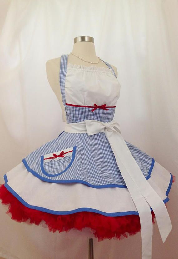 Dorothy de Oz Pin Up delantal traje