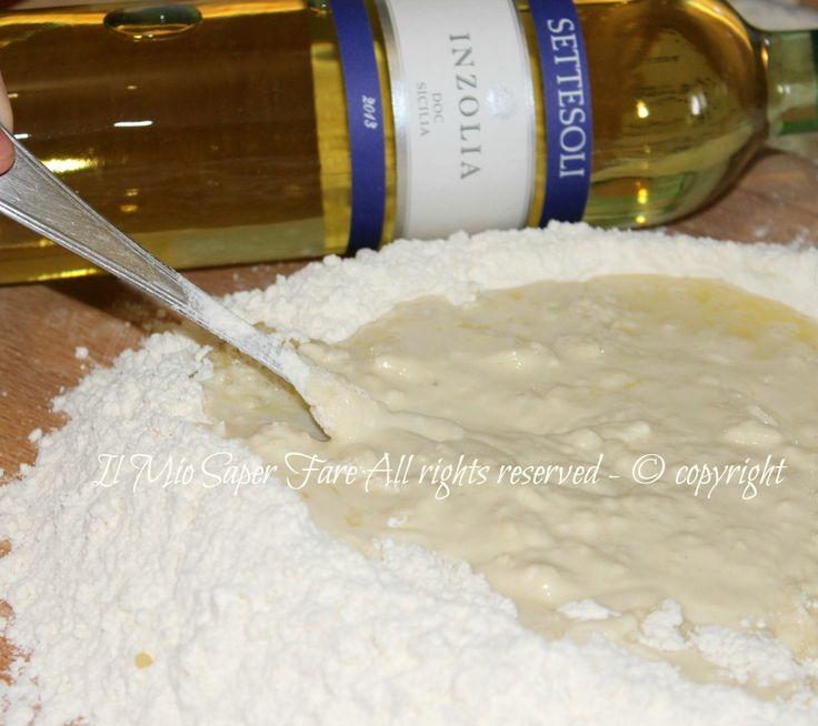 Pasta brise olio e vino bianco ricetta senza burro il mio saper fare