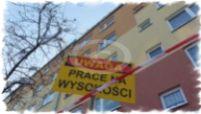 Prace na wysokości, odśnieżanie dachów Wadowice, Kęt, Oświęcim, Kraków, Bielsko-Biała, Andrychów