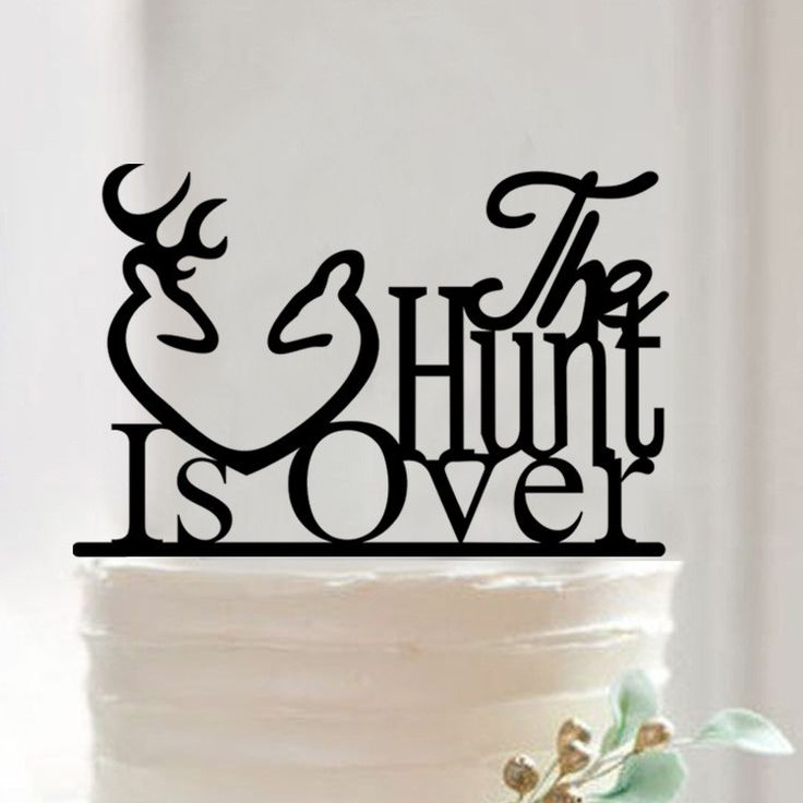 Wedding Cake Topper (Creative /Funny /Humorous /Happy/Engagement Party)