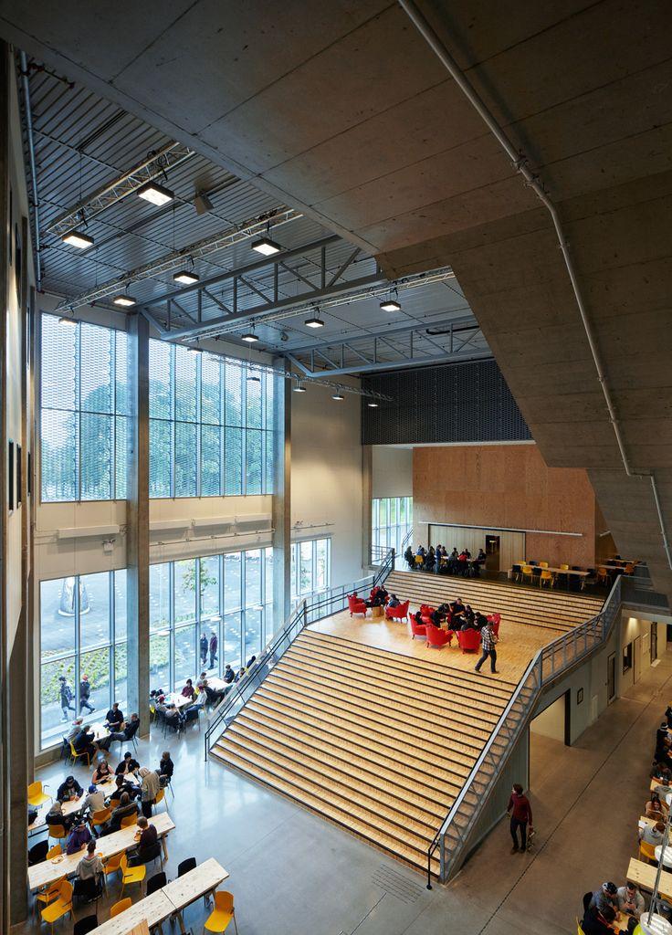 Faerder High School | White Arkitekter A/S; Photo: Ivan Brodey | Archinect