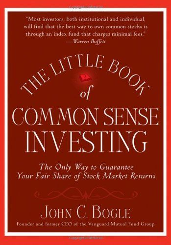 The Little Book of Common Sense Investing: The Only Way to Guarantee Your Fair Share of Stock Market Returns by John C. Bogle http://smile.amazon.com/dp/0470102101/ref=cm_sw_r_pi_dp_01vhvb0P66PGW