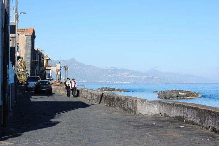 Lungomare di Torre Archirafi, Riposto Catania Sicily