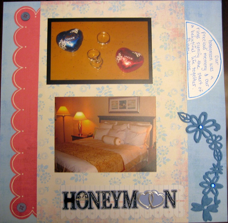 Honeymoon - Scrapbook.com