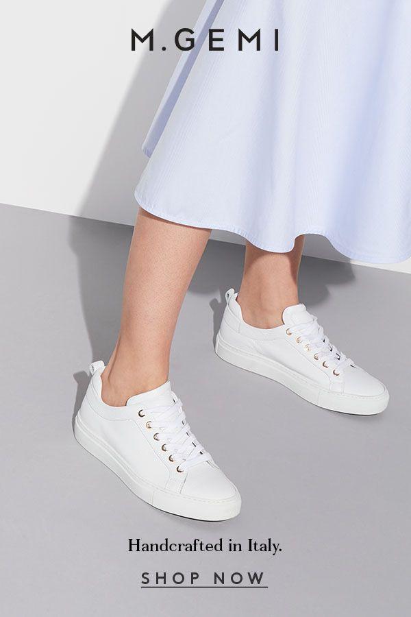 91616316499f95 The classic white sneaker