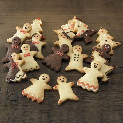 自分でつくる クリスマス型抜きクッキー 約20枚分(10袋分)