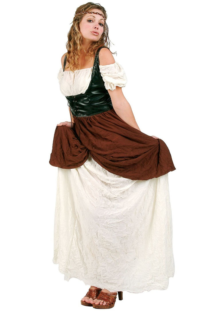 Women's Renaissance Peasant Maiden Costume
