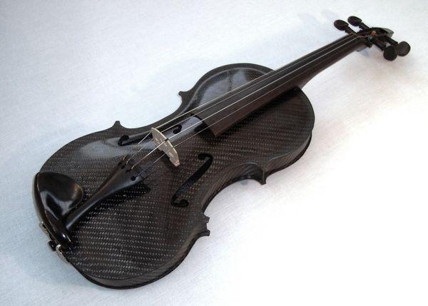 Carbon Fibre Violin by Luke Forward, via Behance