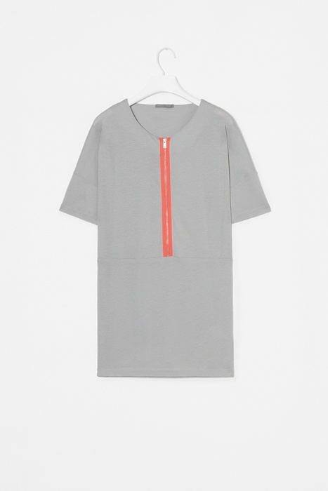 Top with neon zip by COS