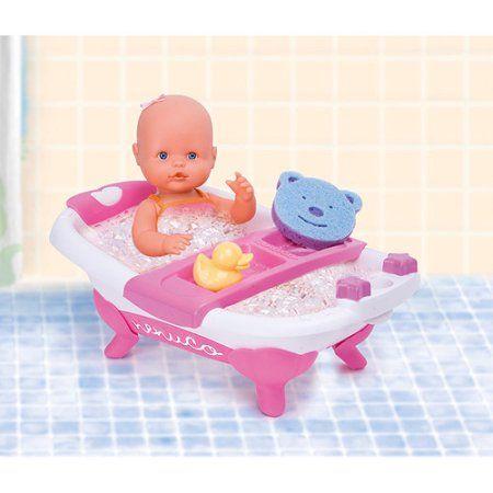 My Little Nenuco Baby Doll With Bath Walmart Com Baby