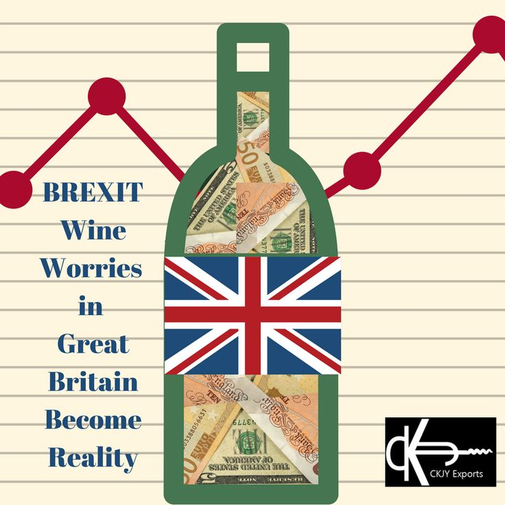"""More than wine unites our world; however, wine and friendship are a classic pairing. I celebrate the spirit with which our British friends are facing these exciting times. We at CKJY Exports give a hearty """"Cheers!"""" of support and admiration of you all.  + Great Britain's Wine Week and the impact of BREXIT on wine prices ... Click to read more. : )"""