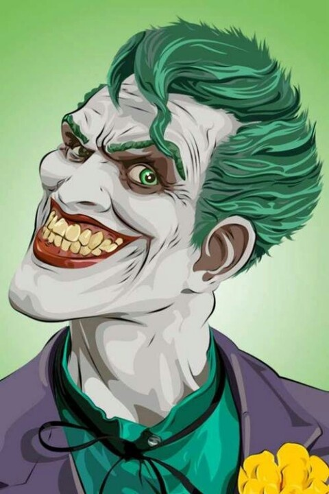 Be crazy... be... The Joker