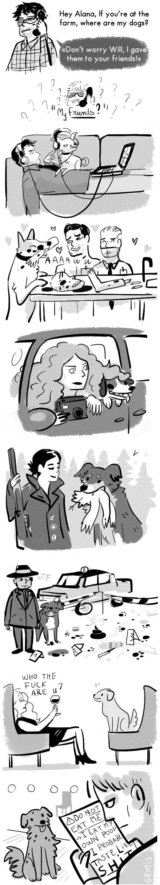 Hannibal Fan Art (Source: grimis.tumblr)