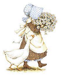 Resultado de imagen para muñecas con vestidos de cuadritos y sombrero