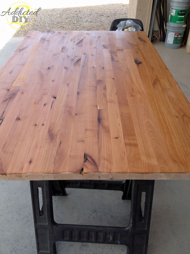 DIY Butcher Block Countertop for under $200 & kitchen island