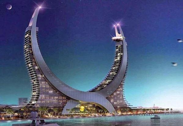 Здание больницы в Дубае