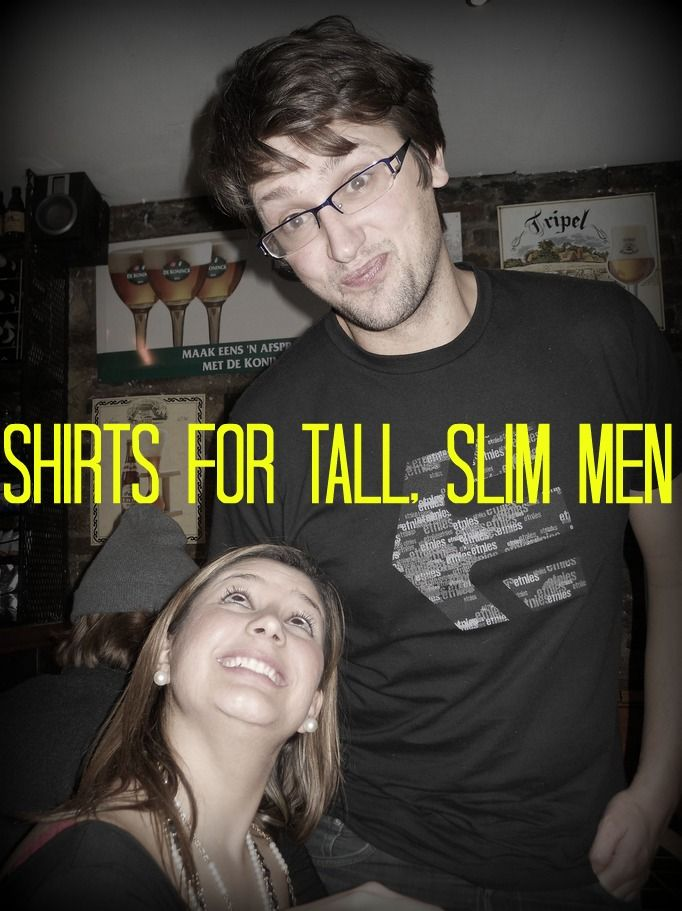 Stores and Websites that Sell Shirts for Very Tall, Skinny and Slim Men