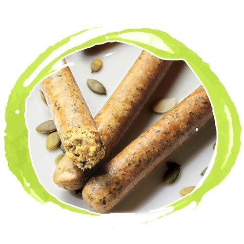 Salsiccia VEGAN ai Semi di zucca - Wheaty