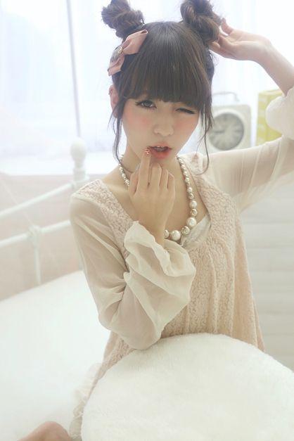 ☆sCene☆ ウサ耳アレンジ | 茨木の美容室 sCene ESTのヘアスタイル | Rasysa(らしさ)