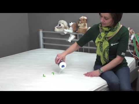 Heb je vlekken op de matras? | Vraag het aan Liesbeth | Het Poetsbureau - YouTube